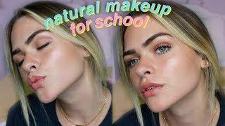 Natural Drugstore Makeup Tutorial for School| Summer Mckeen