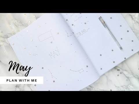 May Bujo Setup | Plan With Me | Minimal Bullet Journal