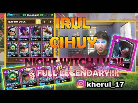 PROMO CHANNEL - IRUL CIHUY COBAIN NIGHT WITCH LEVEL 3  FULL LEGENDARY 9-