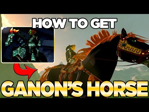 How to get Ganon's Horse / Giant Horse in Breath of the Wild | Austin John Plays