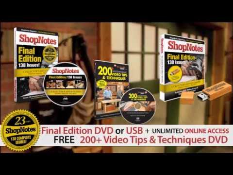 ShopNotes Magazine Digital Library - Promo
