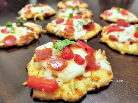 How to make Fat Head Pizza Bites – The Best Low-Carb Thin Pizza Crust