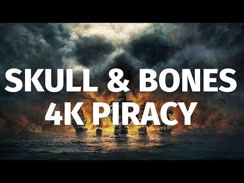 25 Minutes of Skull & Bones in 4K | E3 2018 Ship Battles