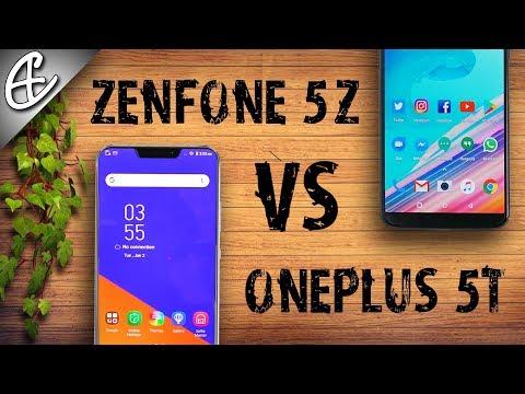 Asus Zenfone 5Z vs OnePlus 5T - Hands On Comparison!