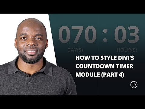 How to Create a Countdown Timer with an Animated Gradient Background