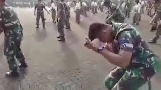 This songs from king monada Indonesians  army dance music from king monada chiwana🕺