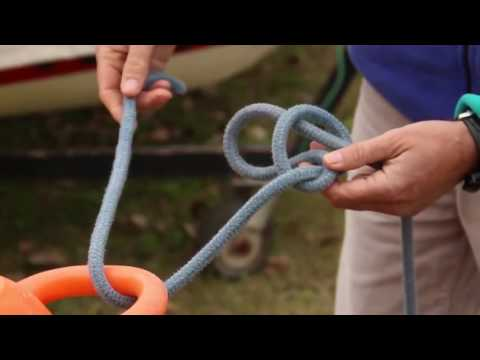 How to tie a bowline knot the easy way!