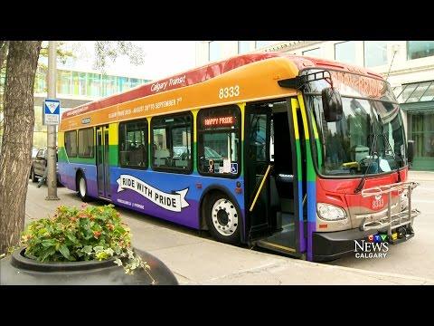 Driver refuses to get behind wheel of Calgary Pride Bus
