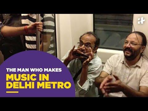 Indiatimes - Meet Munindra Sagar, The Man Who Makes Music In Delhi Metro
