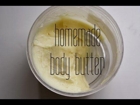 DIY // Homemade Natural Body Butter