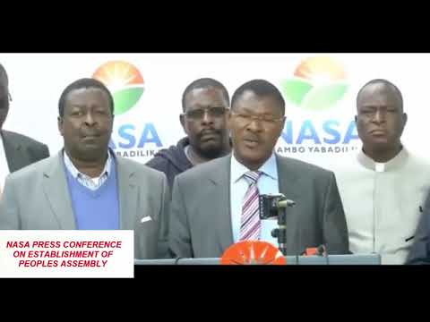 Breaking News... Formation and Structure of Peoples Assembly a great shock to Jubilee