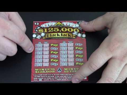 I Scratch off a Lottery Ticket: $125,000 Black Jack Part 4