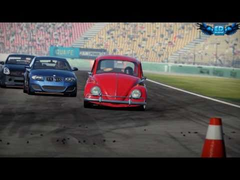 Shift 2 Unleashed Car Mod VW Fusca Gameplay Maximus Settings GTX460