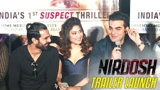 Nirdosh Trailer Launch HIGHLIGHTS | Arbaaz Khan | Manjari Faddnis | Ashmit Patel | Maheck Chahal