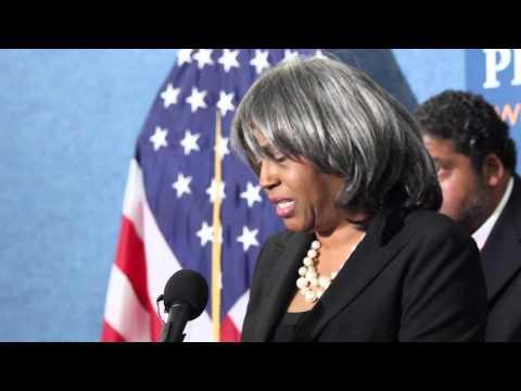 Historic Blockade of Loretta Lynch: Stella Adams remarks