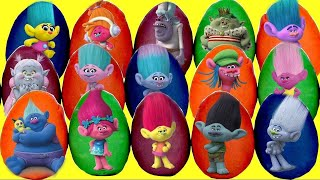 30 TROLLS PLAY DOH SURPRSE EGGS with Poppy and Branch, Blind Bags, Mashems Fashems, TOY    TUYC