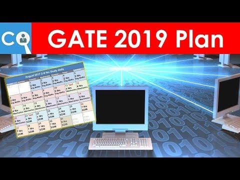 GATE 2019 Computer Science/IT Plan   BATMAN Plan