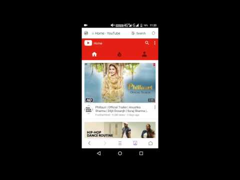 HOW to change Youtube desktop view to mobile view