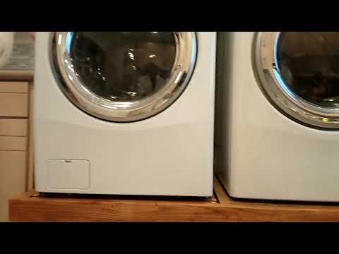 2nd floor washing machine vibration fix