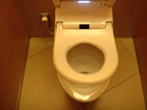Modern Japanese Toilet
