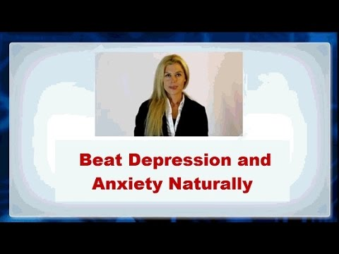 ★ Way to Beat Depression and anxiety Naturally without Medication