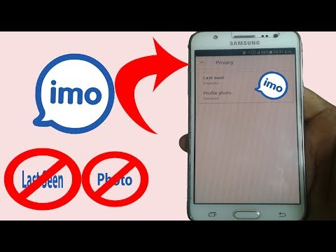 Imo Messenger Privacy Settings- How to hide my last seen status & Profile Photo on 'imo' Android
