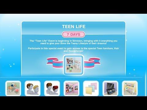 Simsfreeplay - Teen Life (Hobby) Event