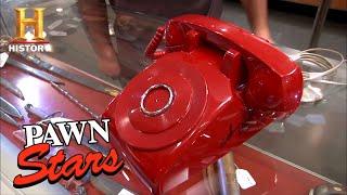 Pawn Stars: Original Bat Phone Signed By Adam West (Season 8)   History