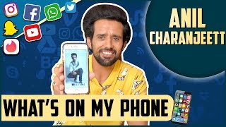 INSIDE Anil Charanjeett's Phone | TellyMasala | What's On My Phone