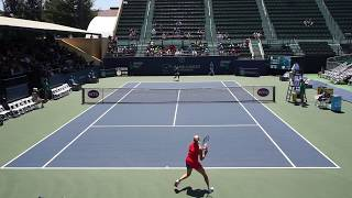2017 Bank of the West Classic: Sachia Vickery (USA) vs Fanny Stollar (HUN) Highlights HD