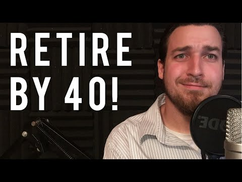 HOW TO RETIRE BY 40 and earn a million dollars per year FOR LIFE!