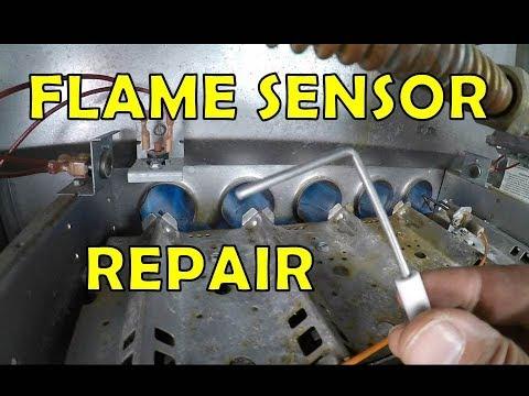 Furnace Flame Sensor Repair and Replace