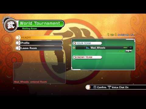 DRAGON BALL XENOVERSE Online Tournament!