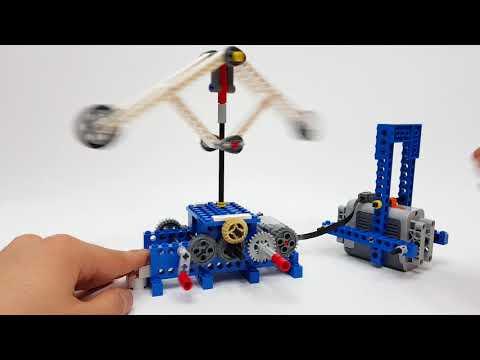 LEGO 9686 Machine&Mechnism - 36. Flywheel (Leonardo da Vinci)