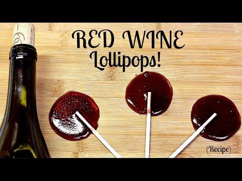 EASY RED WINE LOLLIPOPS RECIPE