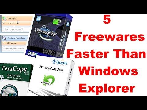 5 Best Copy-Paste Softwares - Faster than Windows Explorer