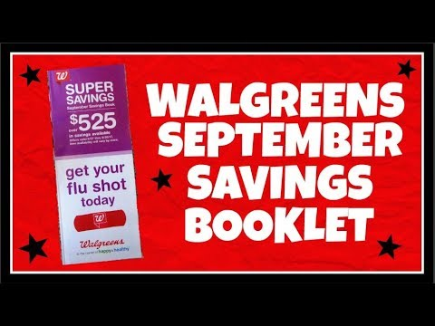 Walgreens September Savings Booklet Preview