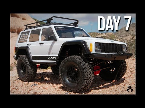 Axial SCX10 II Kit Build - Day 7 - Finishing the Chassis!