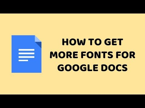 How To Get More Fonts for Google Docs   Add More Fonts for Google Docs   Tutorials In Hindi