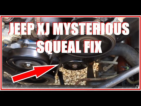 JEEP CHEROKEE XJ SQUEAKY PULLEY FIX