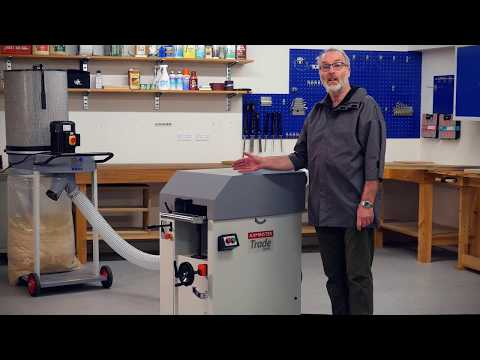 Axminster Trade Series MB103 310mm Thicknesser - Product Overview