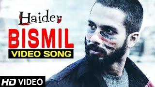 Bismil | Haider | Full Video Song (Official) | Shahid Kapoor | Shraddha Kapoor | Sukhwinder Singh