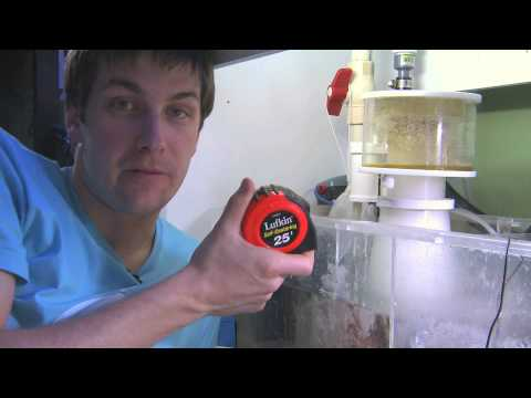 Tuning a Protein Skimmer