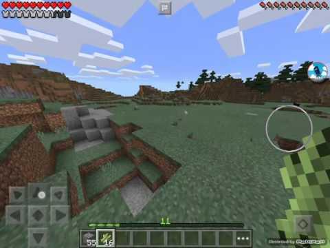 FIRE ASPECT DIAMOND SWORD [Minecraft pe Survival] [6]