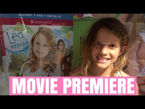 American Girl: Lea To The Rescue - Movie Premiere and Review