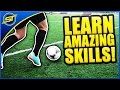 Learn Amazing Football Skills Tutorial ★ HD - Neymar ...