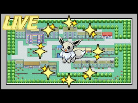 [WSHC #2] LIVE! Shiny Eevee After a QUICK 30,942 SRs [Fire Red]