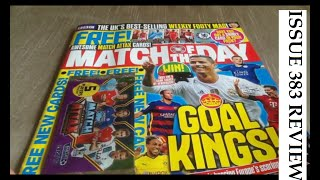 Match Attax 2015/16 and Match of the Day  Magazine 383 with 100 club card pull