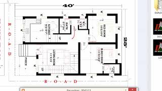 25x33 ft ONE BHK HOUSE PLAN - The Most Popular High Quality Videos