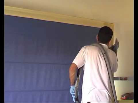 CleanMaster - Dry Cleaning of Roman Blind